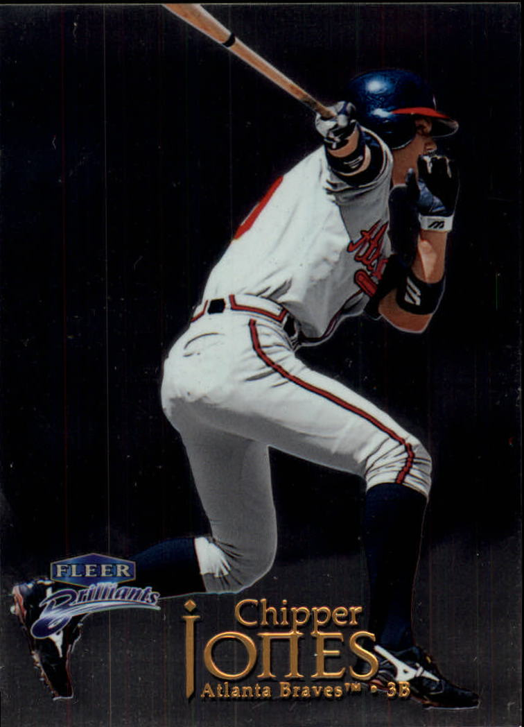 1999 Fleer Brilliants #10 Chipper Jones