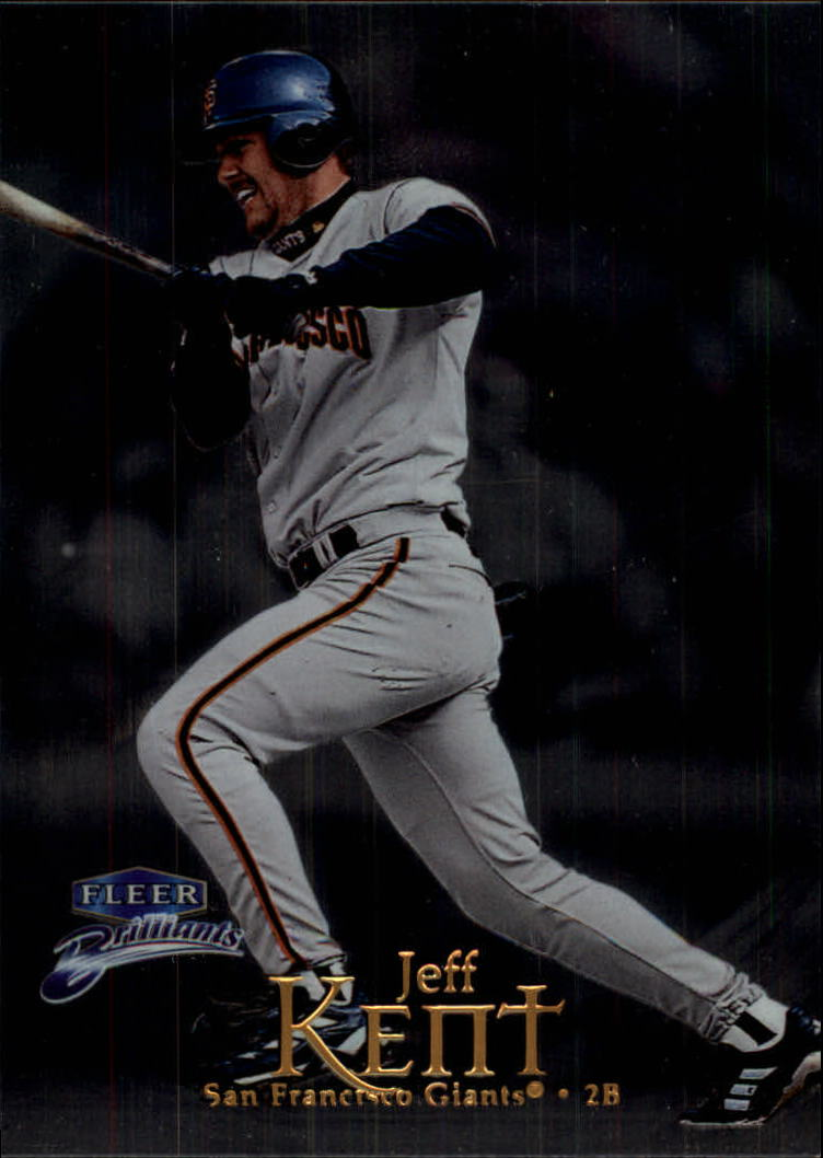 1999 Fleer Brilliants #37 Jeff Kent