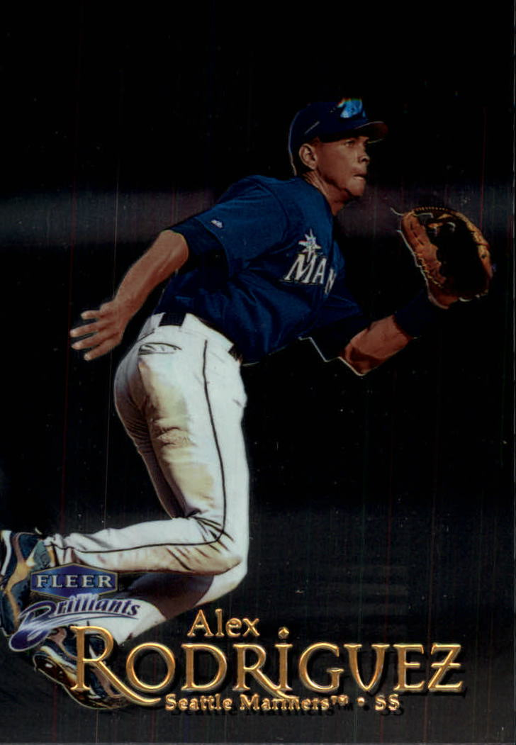 1999 Fleer Brilliants #39 Alex Rodriguez