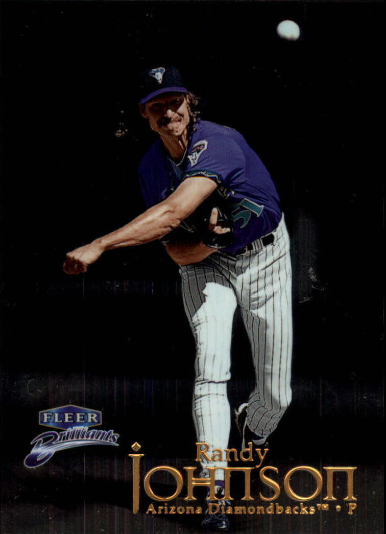1999 Fleer Brilliants #117 Randy Johnson