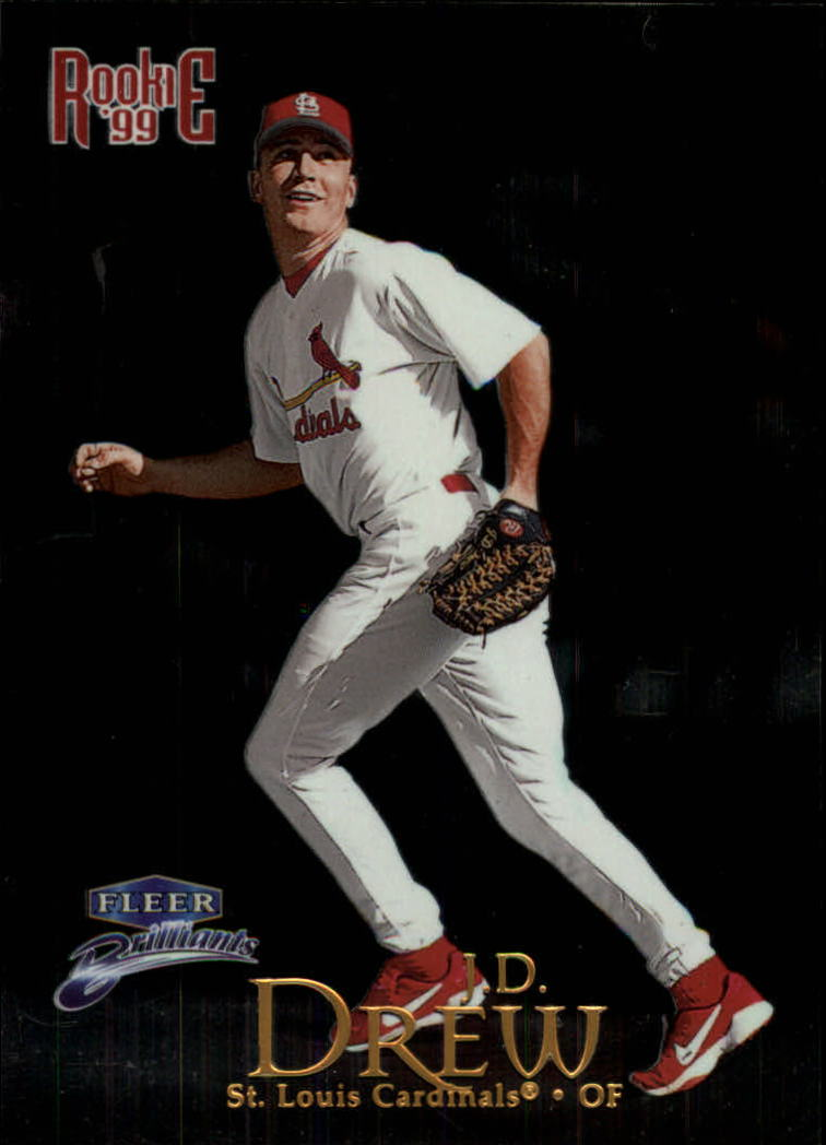1999 Fleer Brilliants #126 J.D. Drew