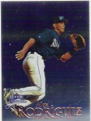 1999 Fleer Brilliants Blue #39 Alex Rodriguez