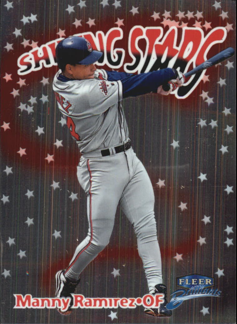1999 Fleer Brilliants Shining Stars #15 Manny Ramirez