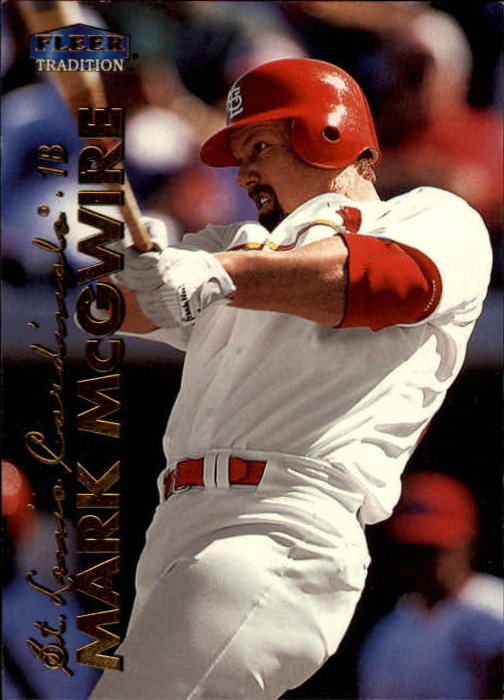 1999 Fleer Tradition #1 Mark McGwire