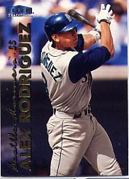 1999 Fleer Tradition #9 Alex Rodriguez