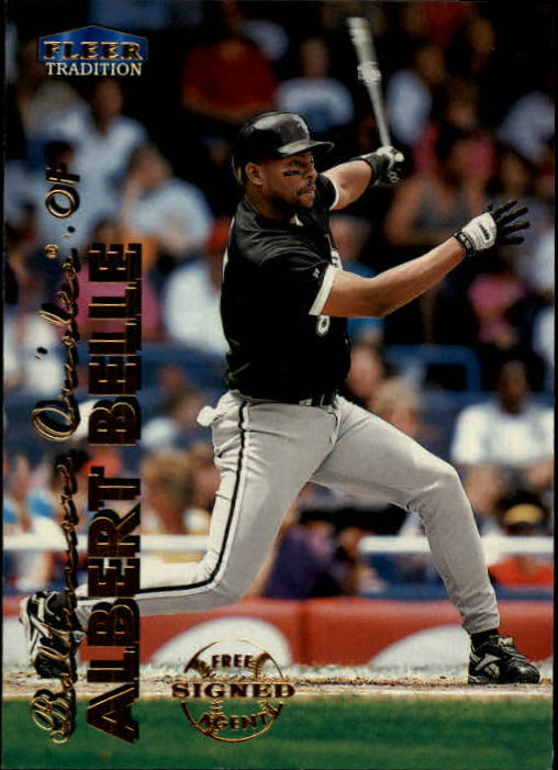 1999 Fleer Tradition #13 Albert Belle
