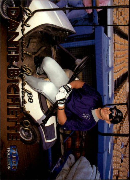 1999 Fleer Tradition #15 Dante Bichette
