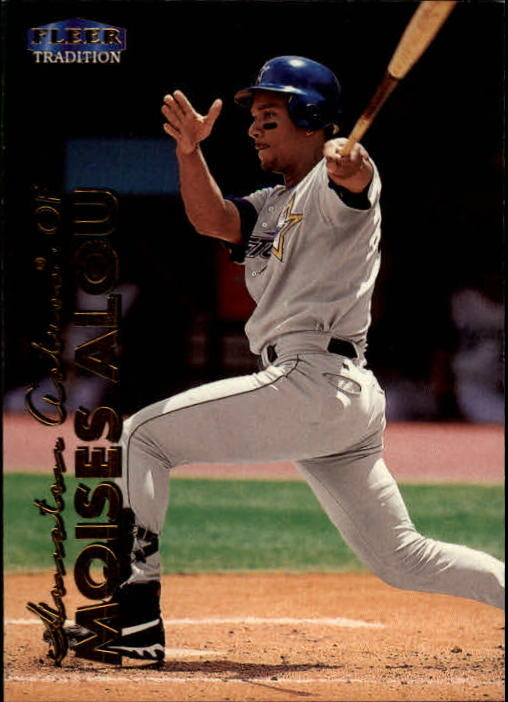1999 Fleer Tradition #17 Moises Alou