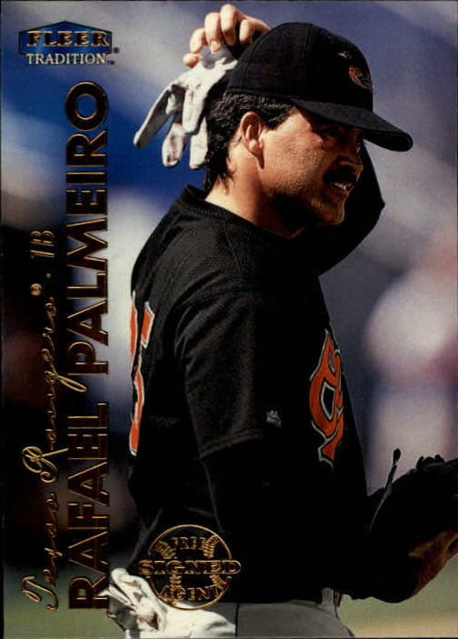 1999 Fleer Tradition #18 Rafael Palmeiro