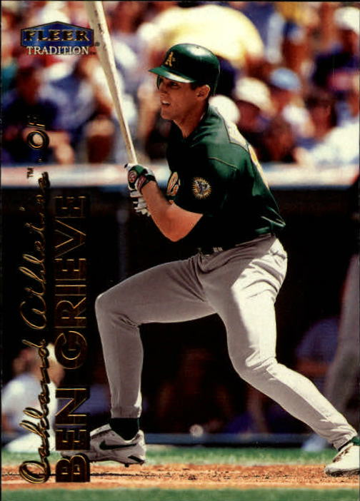 1999 Fleer Tradition #23 Ben Grieve