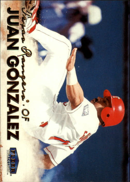 1999 Fleer Tradition #29 Juan Gonzalez