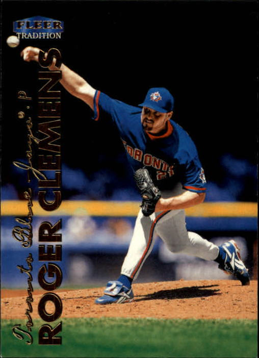 1999 Fleer Tradition #30 Roger Clemens