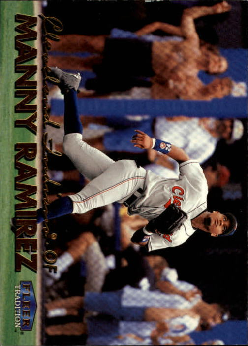 1999 Fleer Tradition #35 Manny Ramirez