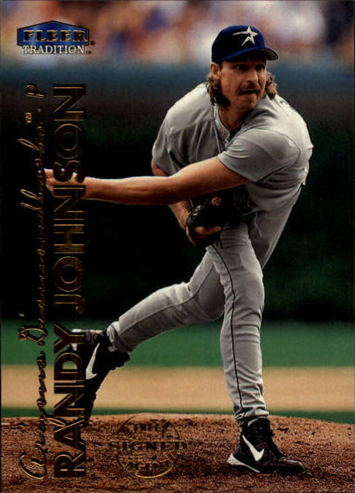 1999 Fleer Tradition #36 Randy Johnson