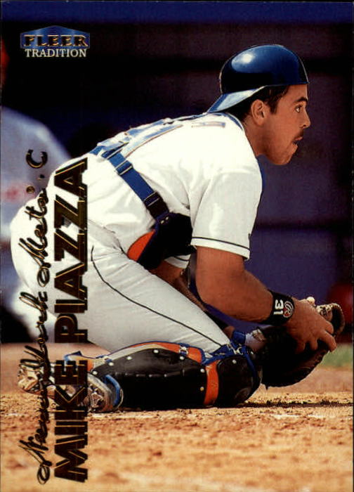 1999 Fleer Tradition #41 Mike Piazza