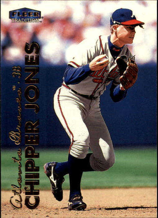 1999 Fleer Tradition #44 Chipper Jones
