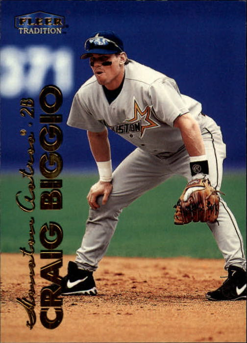 1999 Fleer Tradition #46 Craig Biggio