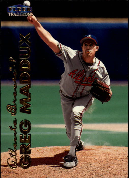 1999 Fleer Tradition #49 Greg Maddux