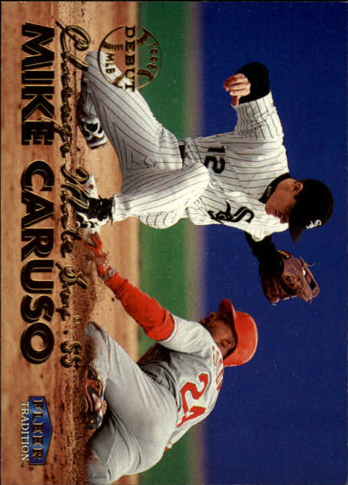 1999 Fleer Tradition #53 Mike Caruso