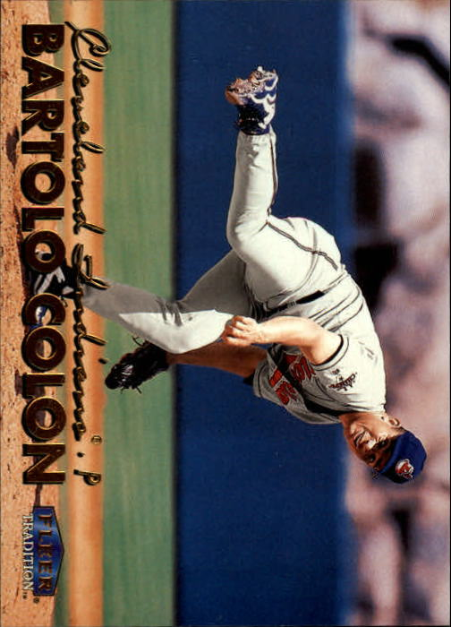 1999 Fleer Tradition #56 Bartolo Colon