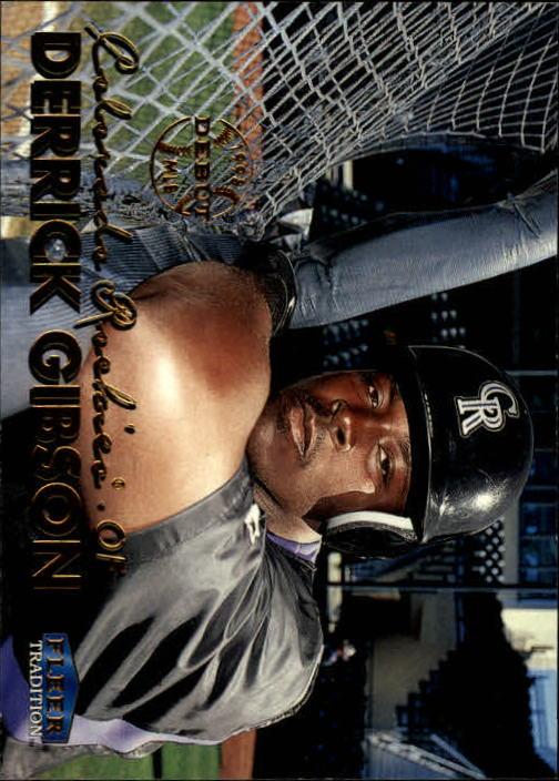 1999 Fleer Tradition #57 Derrick Gibson