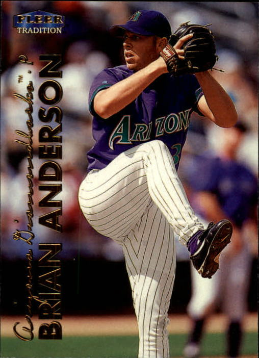 1999 Fleer Tradition #58 Brian Anderson