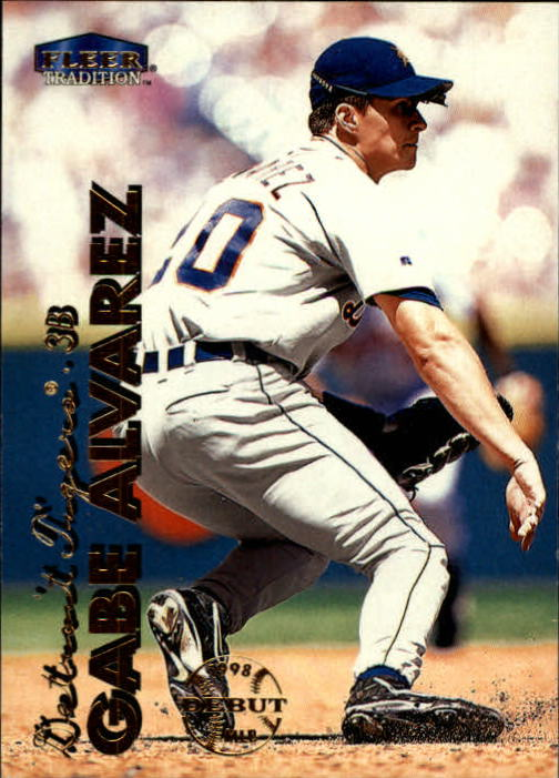 1999 Fleer Tradition #59 Gabe Alvarez