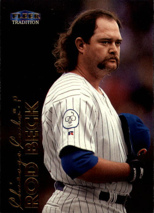 1999 Fleer Tradition #61 Rod Beck