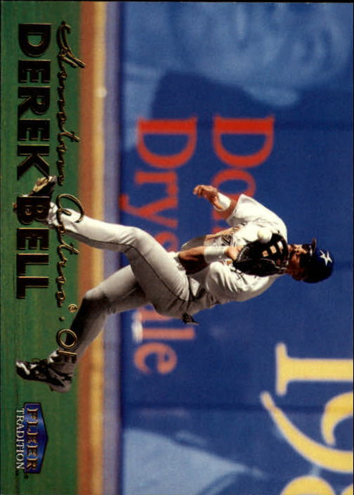 1999 Fleer Tradition #62 Derek Bell