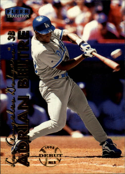 1999 Fleer Tradition #65 Adrian Beltre