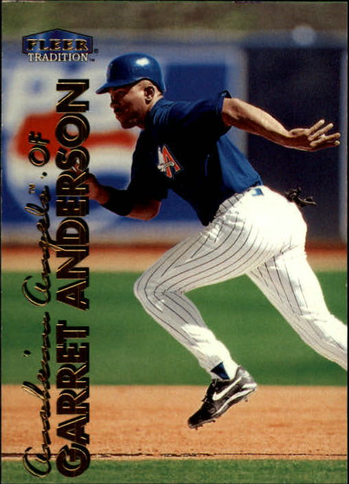 1999 Fleer Tradition #66 Garret Anderson