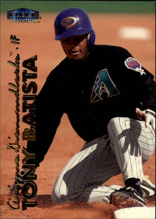 1999 Fleer Tradition #81 Tony Batista