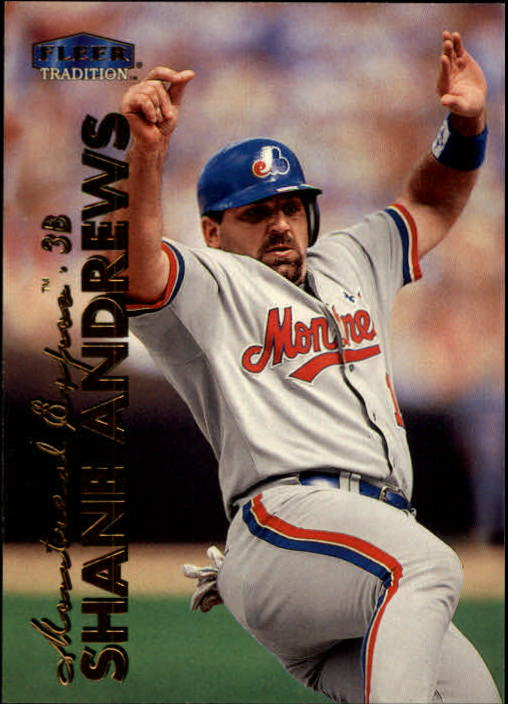 1999 Fleer Tradition #82 Shane Andrews