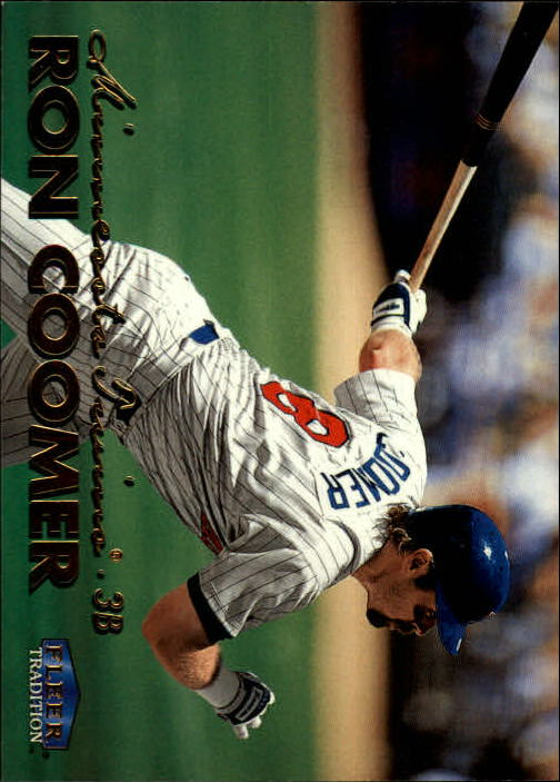 1999 Fleer Tradition #88 Ron Coomer
