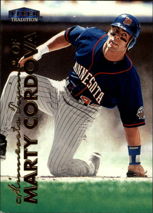 1999 Fleer Tradition #98 Marty Cordova