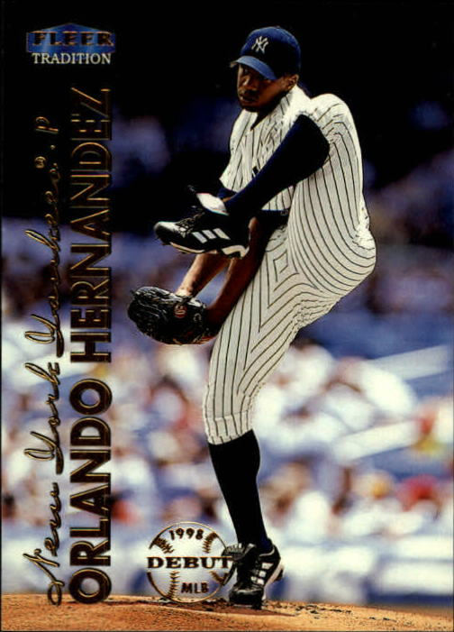 1999 Fleer Tradition #100 Orlando Hernandez
