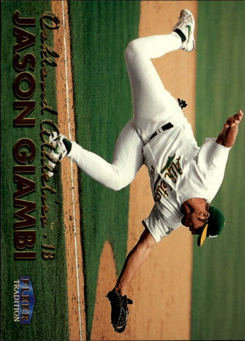 1999 Fleer Tradition #102 Jason Giambi