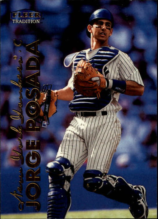 1999 Fleer Tradition #514 Jorge Posada
