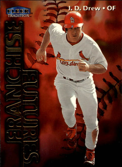 1999 Fleer Tradition #578 J.D. Drew FF