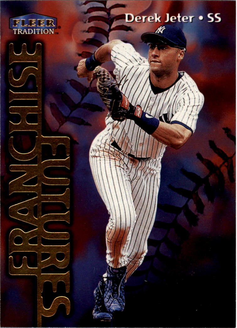 1999 Fleer Tradition #585 Derek Jeter FF