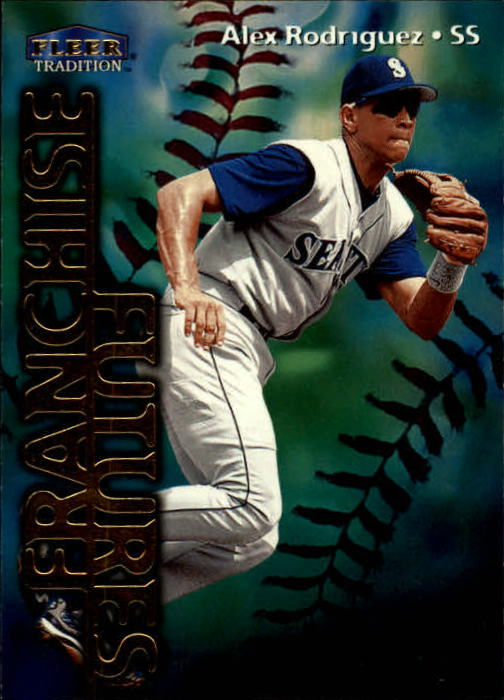 1999 Fleer Tradition #587 Alex Rodriguez FF