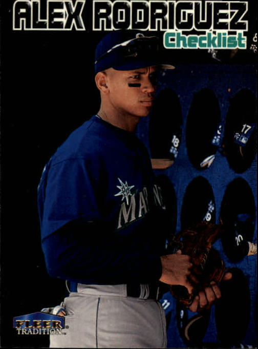 1999 Fleer Tradition #593 Alex Rodriguez CL