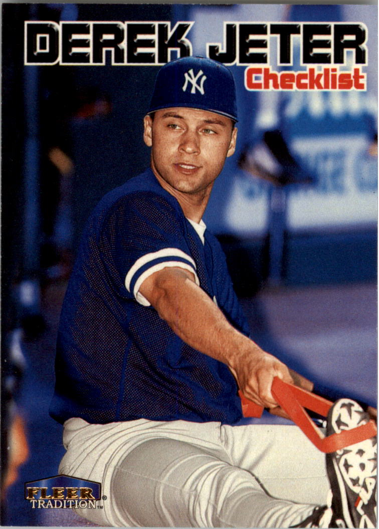 1999 Fleer Tradition #598 Derek Jeter CL