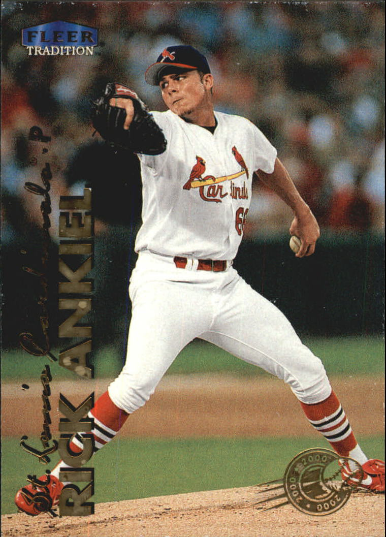 1999 Fleer Tradition Millenium #601 Rick Ankiel