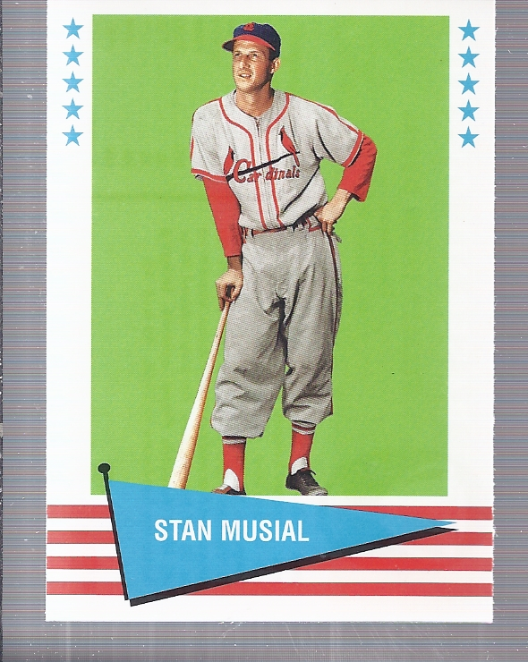1999 Fleer Tradition Vintage '61 #6 Stan Musial