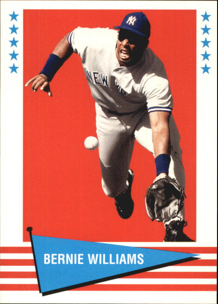 1999 Fleer Tradition Vintage '61 #22 Bernie Williams