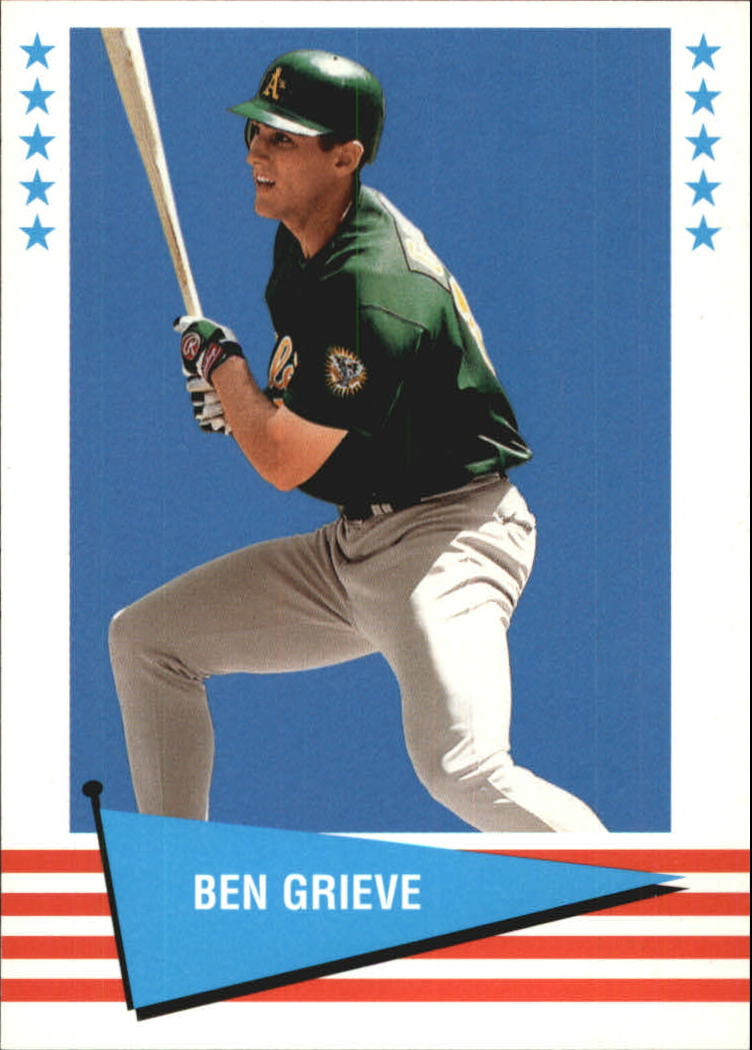 1999 Fleer Tradition Vintage '61 #23 Ben Grieve