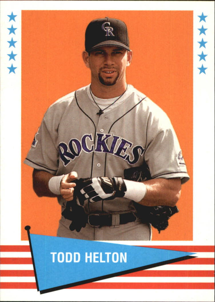 1999 Fleer Tradition Vintage '61 #28 Todd Helton