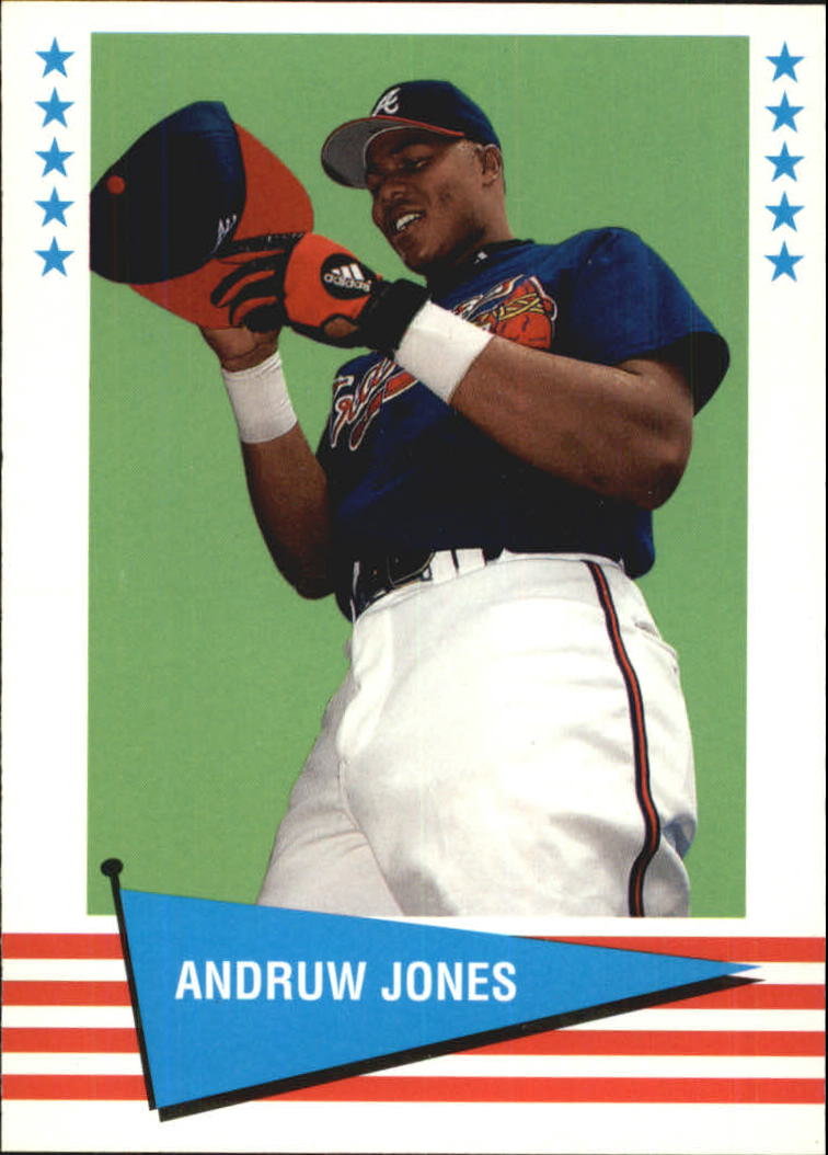 1999 Fleer Tradition Vintage '61 #31 Andruw Jones