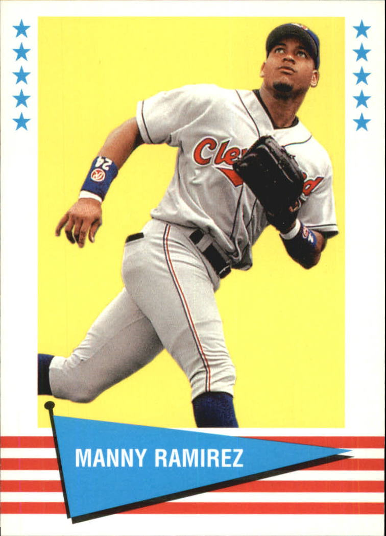 1999 Fleer Tradition Vintage '61 #35 Manny Ramirez